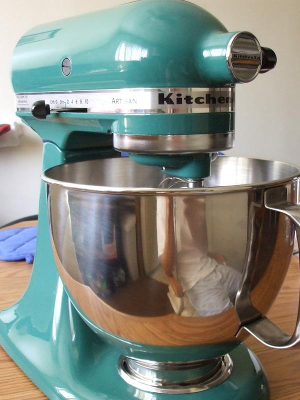04 may 2010 for the love of food - Kitchenaid mixer bayleaf ...