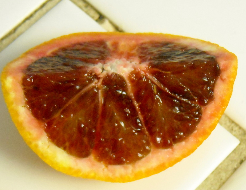 Blood Orange Wedge