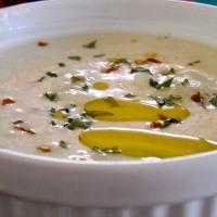Meatless Monday: Cheddar Cauliflower Soup