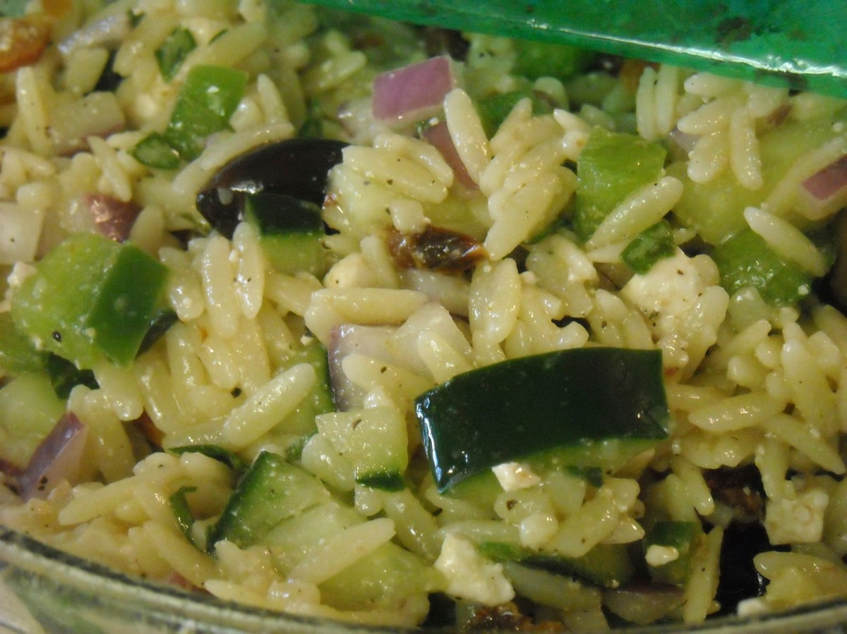 Meatless Monday: Greek Orzo Salad