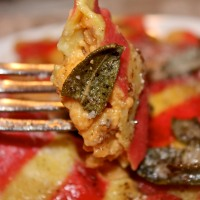Meatless Monday: Butternut Squash Ravioli with Browned Butter and Crispy Sage