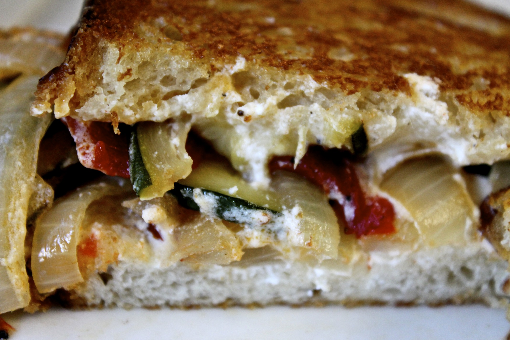 Pumpkin Butter, Sopressata And Goat Cheese Panini Recipe ...
