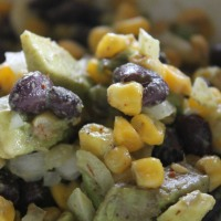 "Meatless Monday: Avocado ""Succotash"""