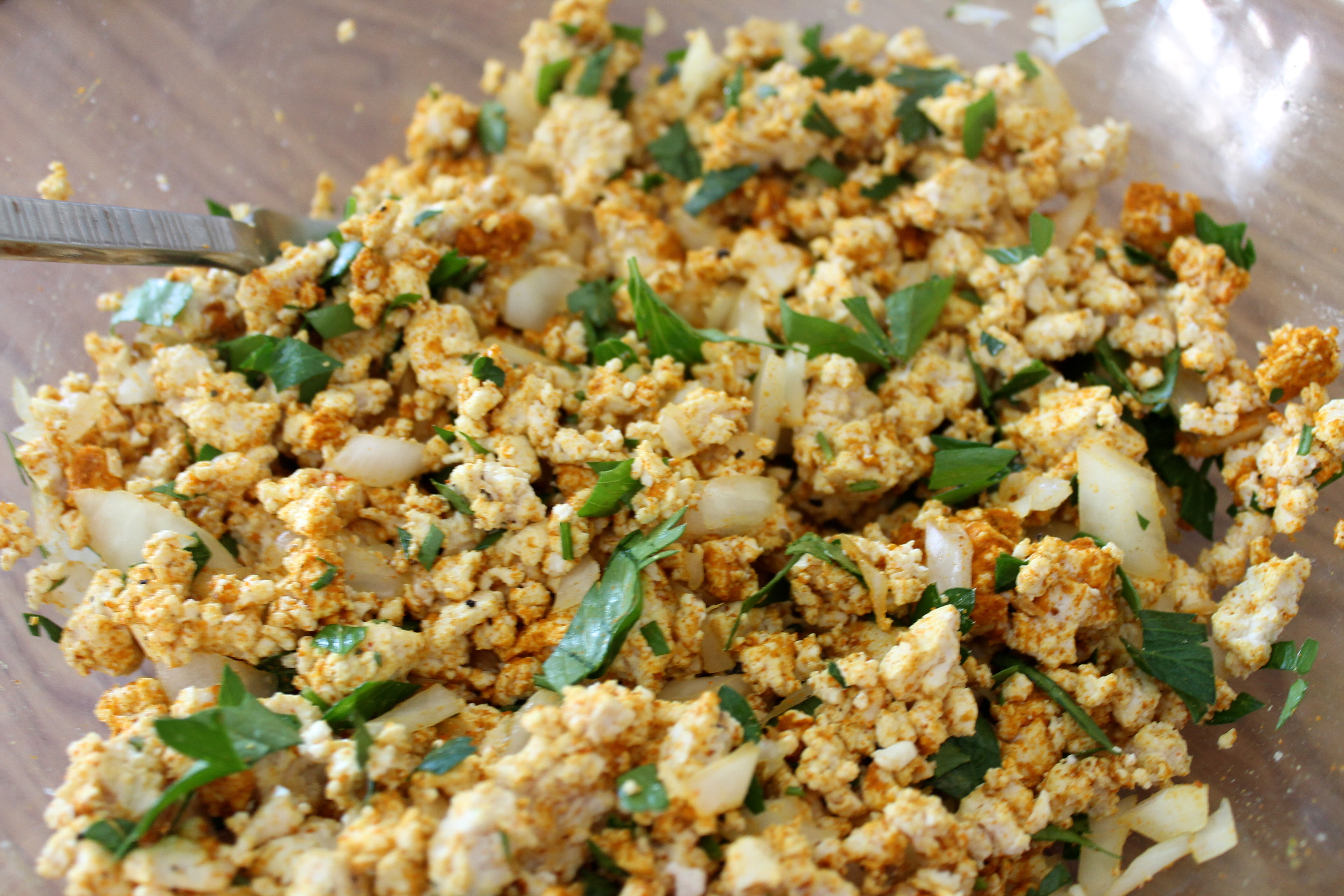 Meatless Monday: Curried Tofu 'Egg' Salad – For the Love of Food